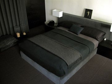 Room · Black And Charcoal Dominate This Elegant ...