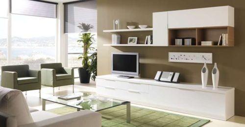 Hay muebles modulares modernos, clásicos, de diseño, rustico