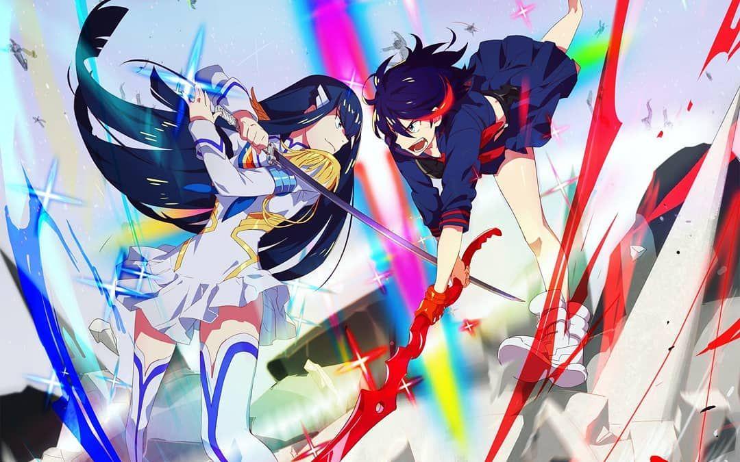 Satsuki Kiryuin Vs Ryuko Matoi Kill La Kill Kill La Kill Art Anime