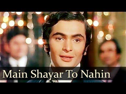 Bobby Main Shayar To Nahin Magar Ae Haseen Shailendra Singh Hindi Movie Song Love Songs Hindi Soul Songs