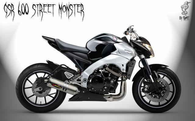 image suzuki gsr 600 street edition 3 3 ghost design moto pinterest. Black Bedroom Furniture Sets. Home Design Ideas