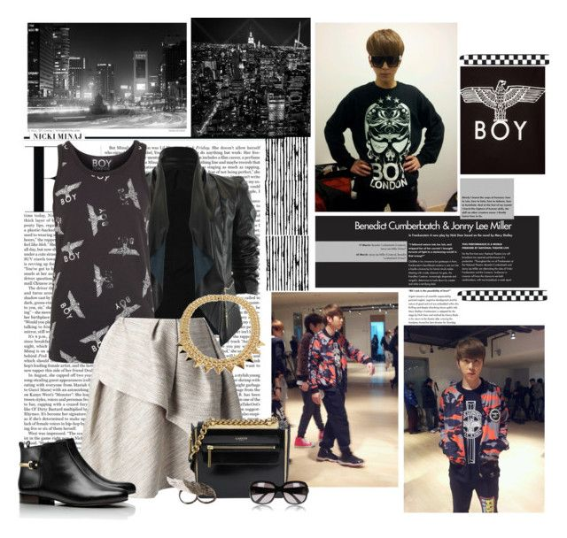 """Boy London"" by nikol128 ❤ liked on Polyvore featuring BOY London, Nicki Minaj, Carven, Tory Burch, Lanvin, AS29, Gucci and country"