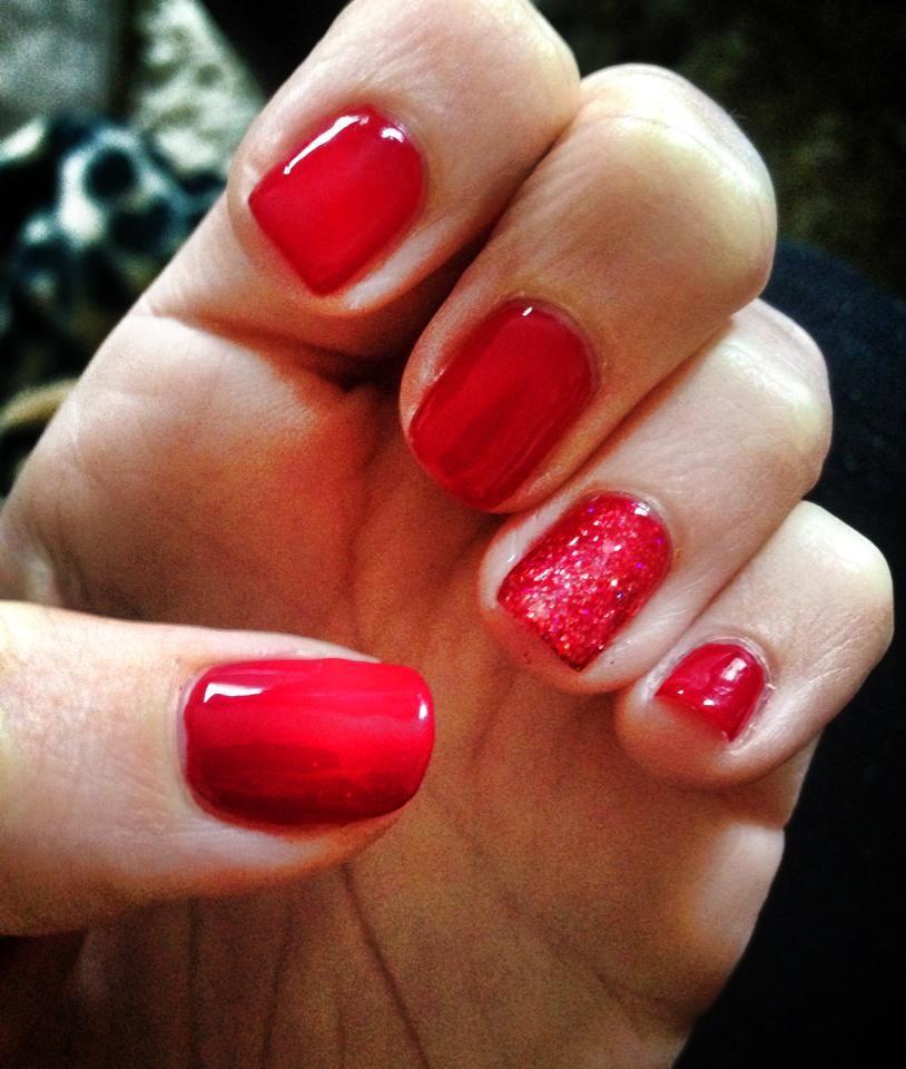 Jessica Christmas Nails