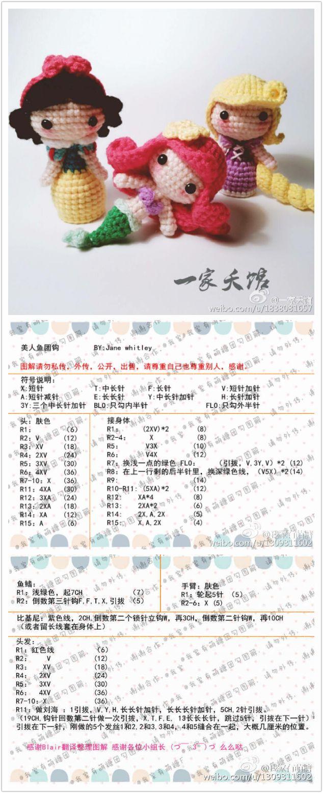 Pin de Kao Keng Love Loev en crochet doll | Pinterest | Patrones ...