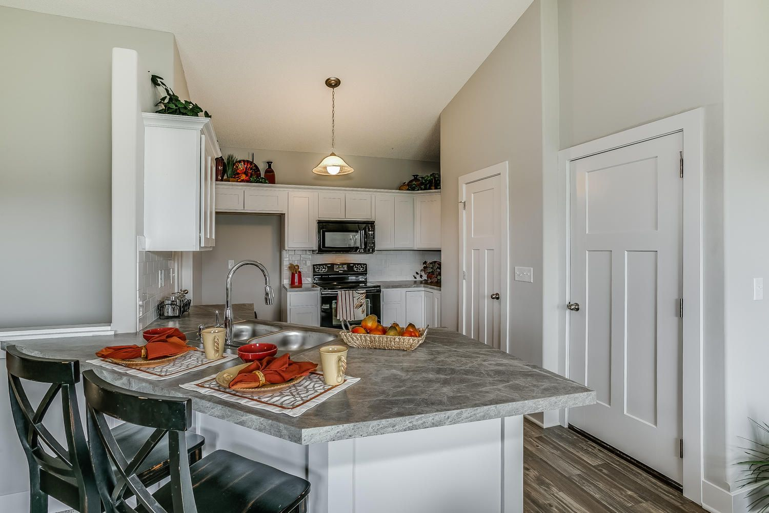 J L Russell offers this innovative floor plan featuring a total of 4 bedrooms 3 baths full finished lower level open design 3 car garage that opens to a ... & J L Russell offers this innovative floor plan featuring a total of 4 ...