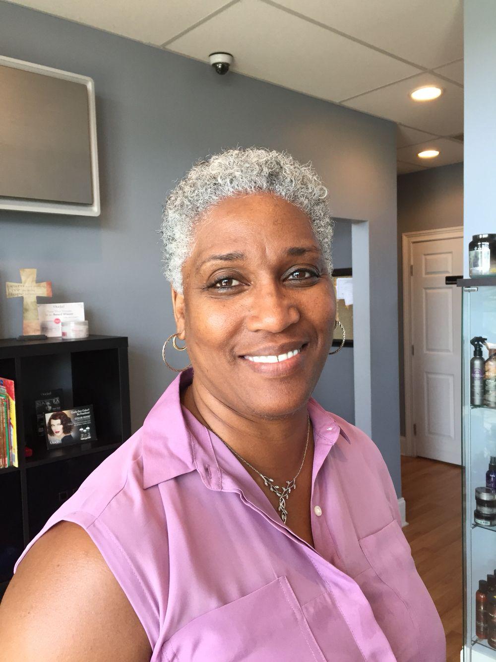 Grey And Gorgeous Natural Gray Hair Natural Hair Styles Short Grey Hair