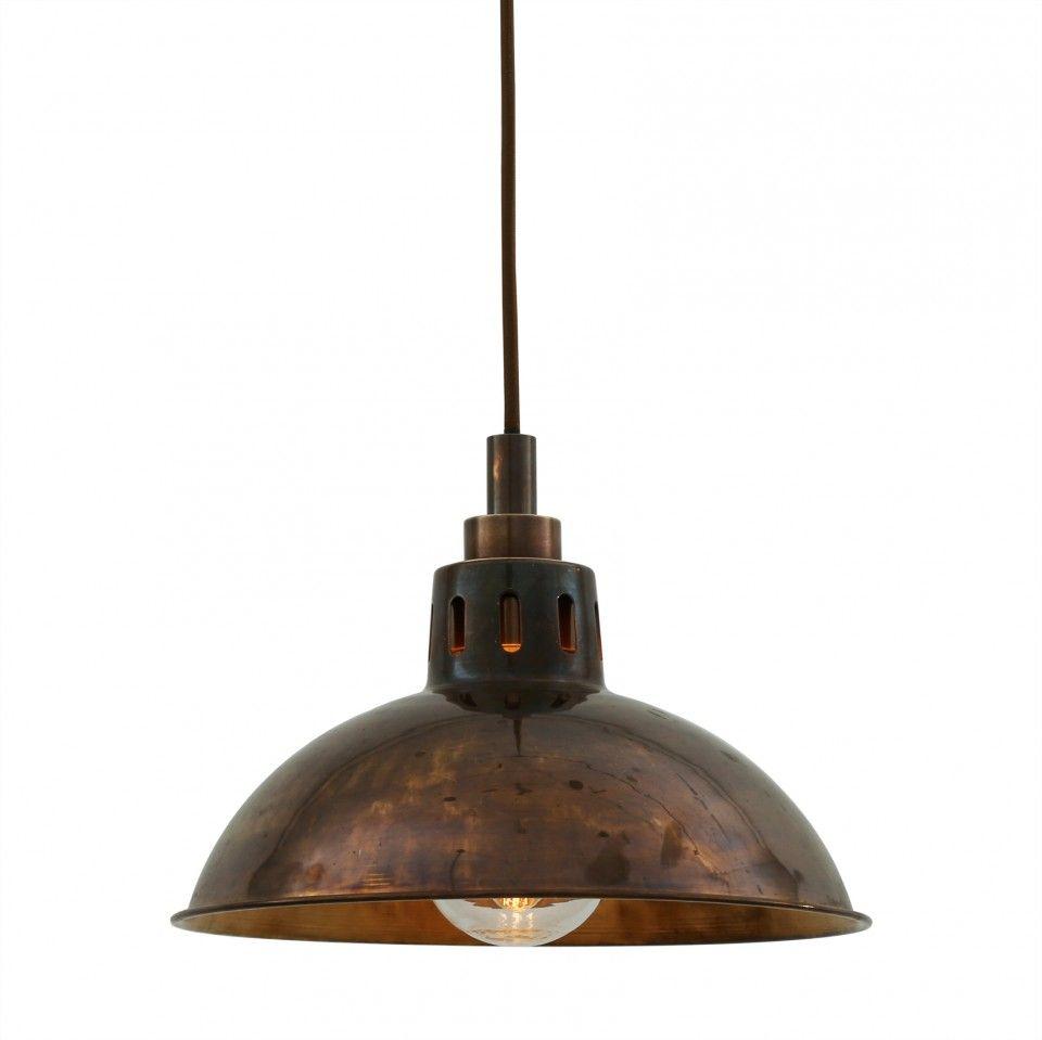 Our vintage style talise pendant light by irish designer mullan
