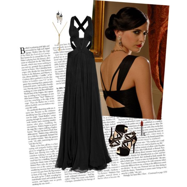 Long Black Casino Dresses