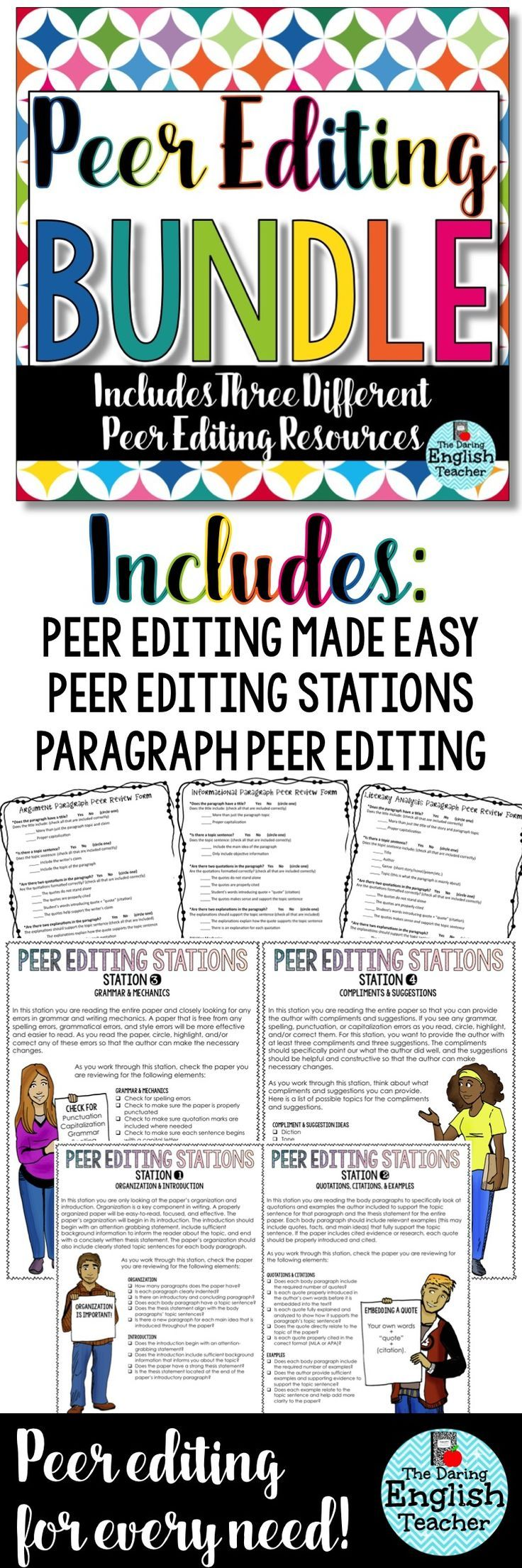 peer editing can be confusing high school and middle school peer editing can be confusing high school and middle school students need direction to effectively acircmiddot essay writingteaching