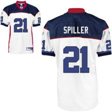 buy online 1b045 d3816 Bills #21 C.J. Spiller White Embroidered NFL Jersey! Only ...