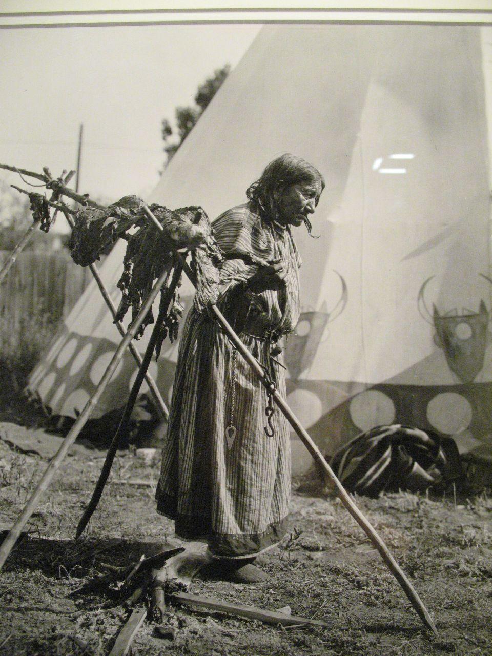 Blackfoot Woman (unidentified), 1920s by Harry Pollard.