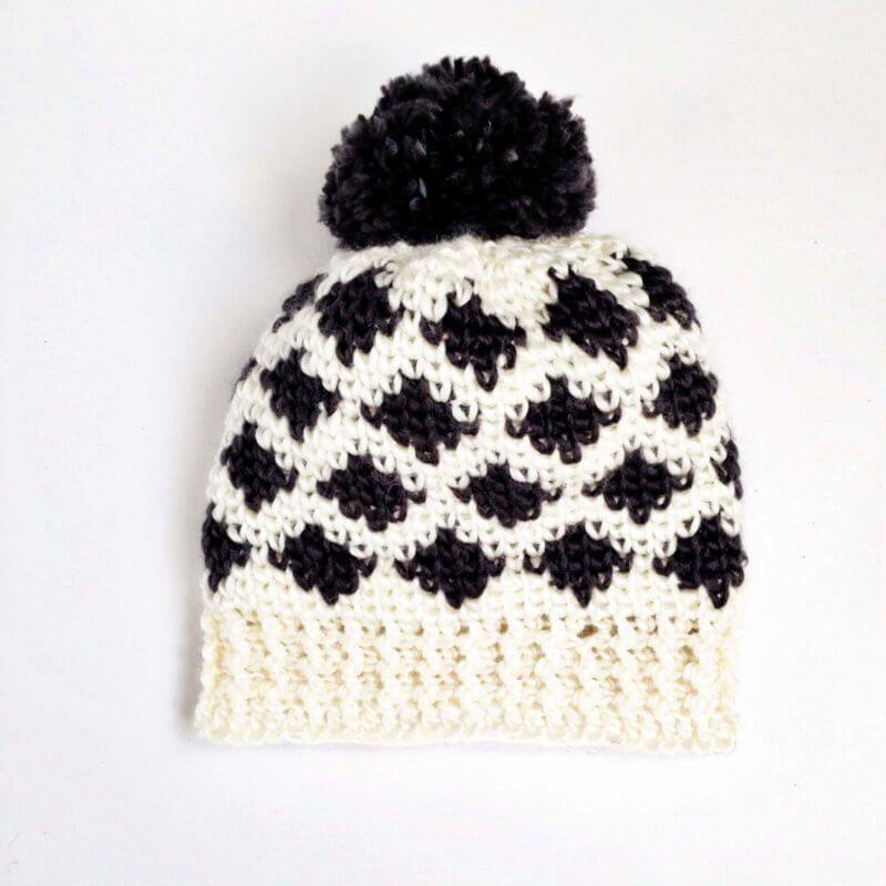 Modern Crochet Patterns Using The Crochet Waistcoat Stitch