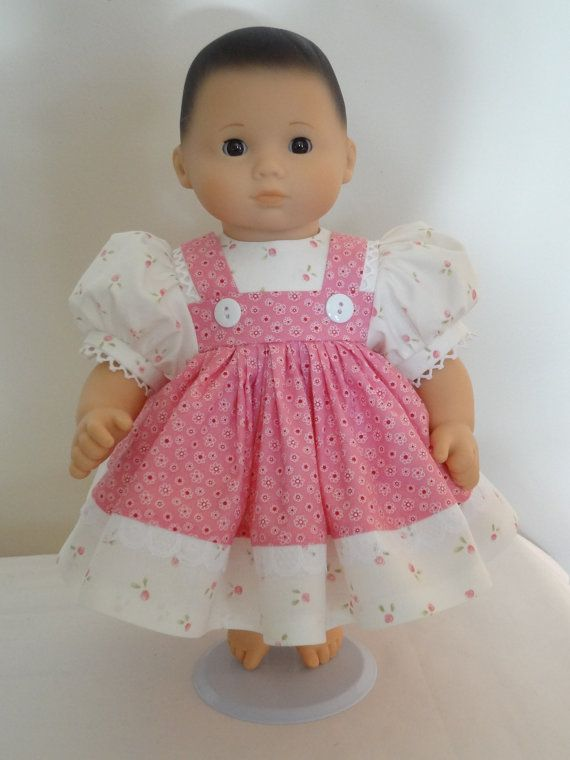 Dress for 15 inch Bitty Baby Doll | Pinterest | Puppenkleidung