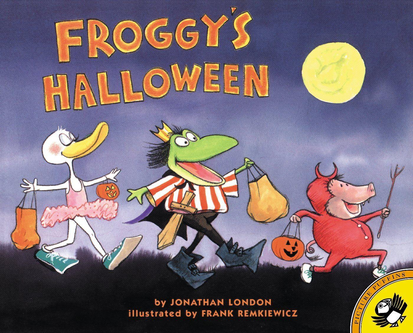 froggys halloween jonathan london frank remkiewicz 9780142300688 amazonsmile books