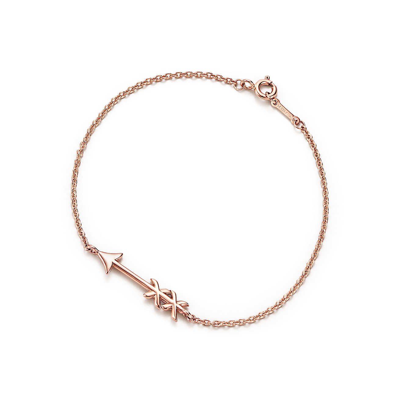 Palomas Graffiti love & kisses bracelet in 18k rose gold, medium Tiffany & Co.