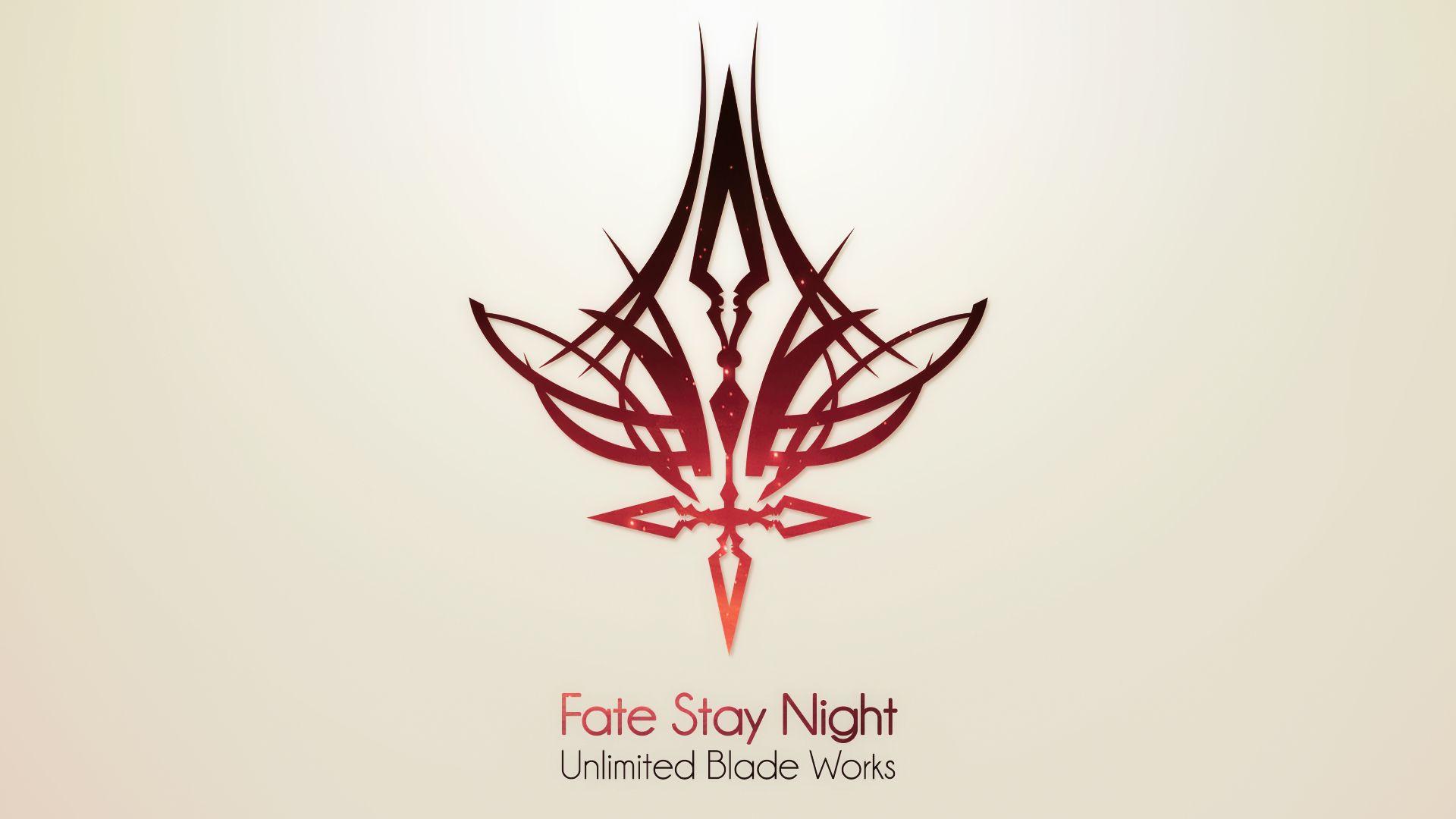 Fsn Ubw Fate Stay Night Stay Night Fate