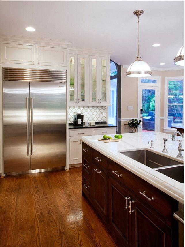 kitchen flooring ideas beautifully stained hardwood floors kitchen flooring with images on kitchen interior tiles id=46812