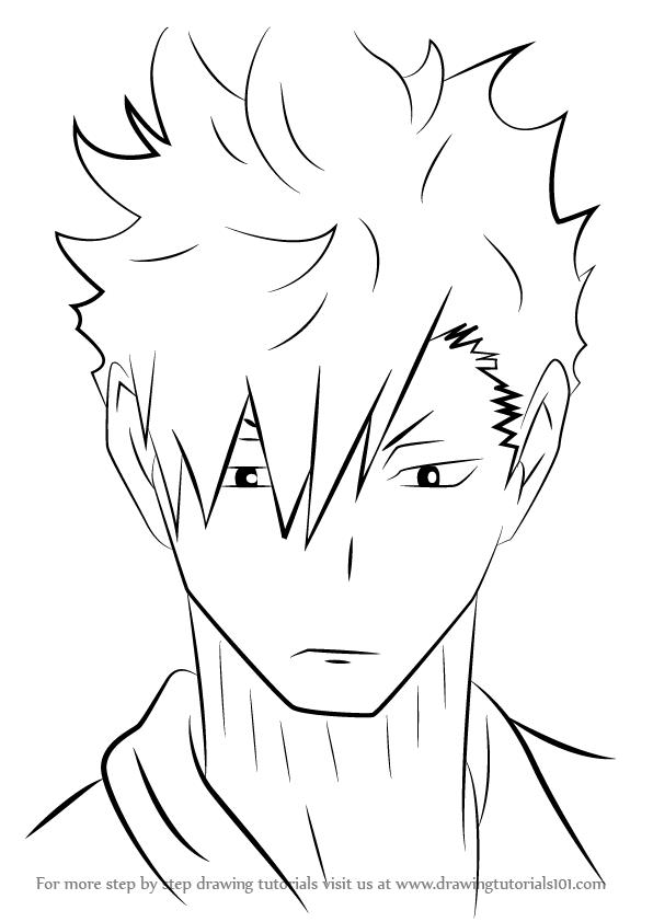 Step By Step How To Draw Kuroo Tetsurou From Haikyuu Drawingtutorials101 Com In 2020 Anime Character Drawing Anime Drawings Tutorials Anime Drawings Sketches