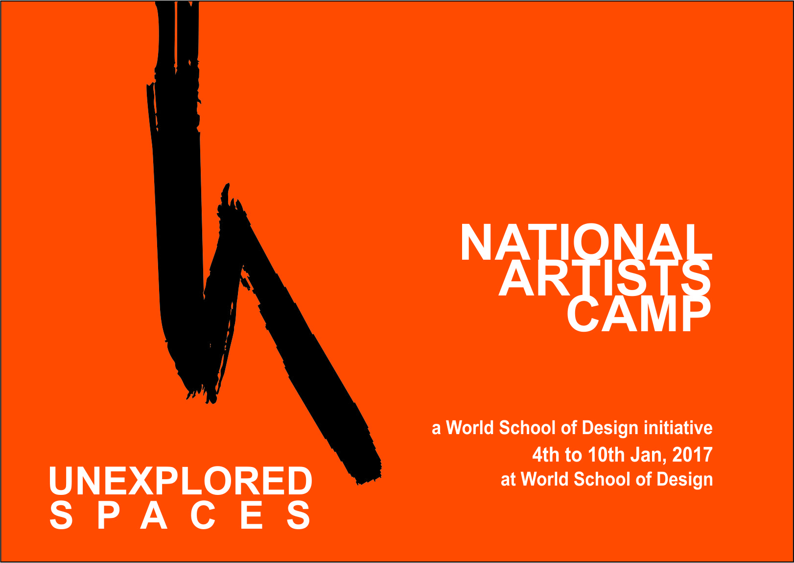 Unexplored Spaces A National Artists Camp At World School Of Design Fashion Designing Course Design World University