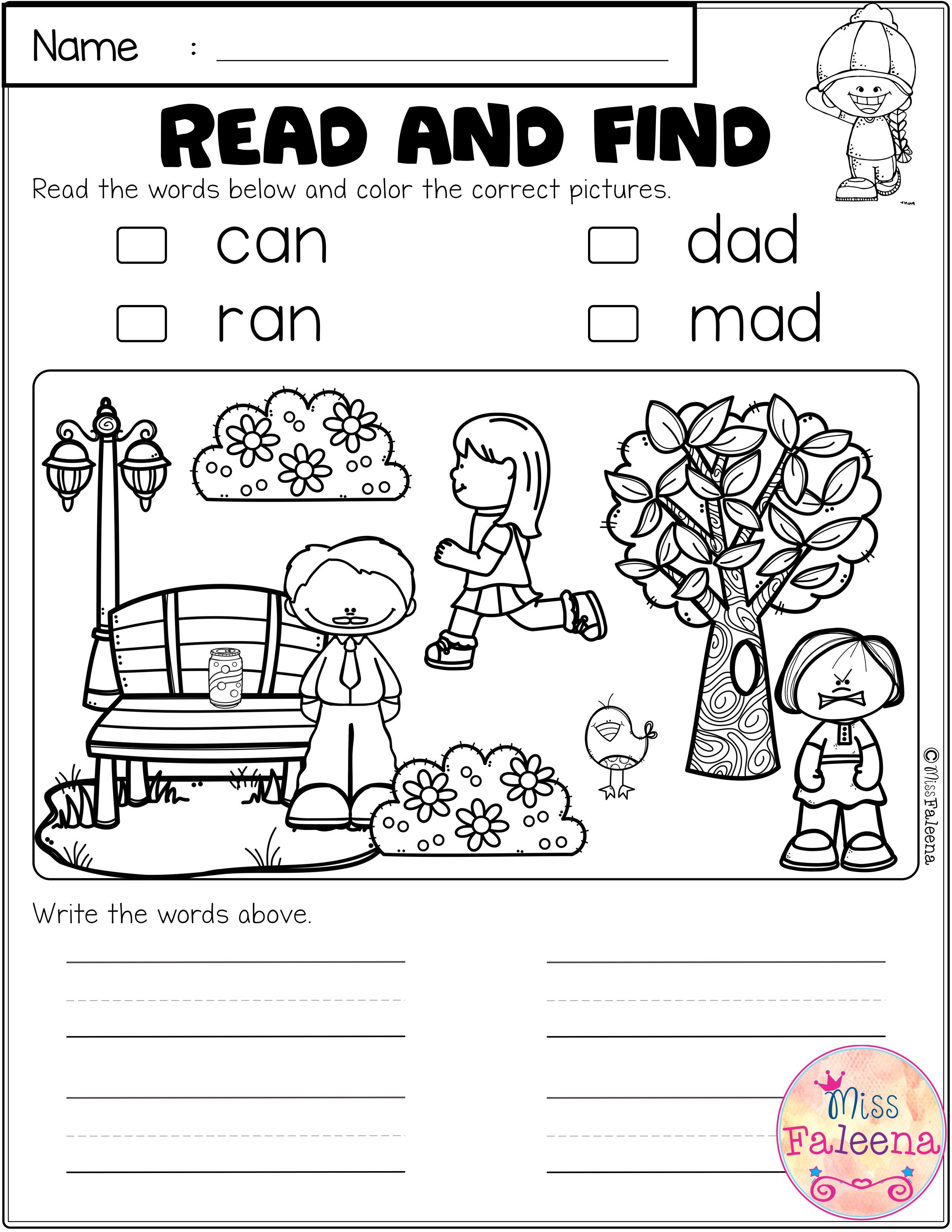 Free Cvc Activities Has 5 Pages Of Cvc Worksheets These Worksheets Help Build Fluency With Tracing Color Cvc Activities Cvc Worksheets First Grade Worksheets [ 3300 x 2550 Pixel ]