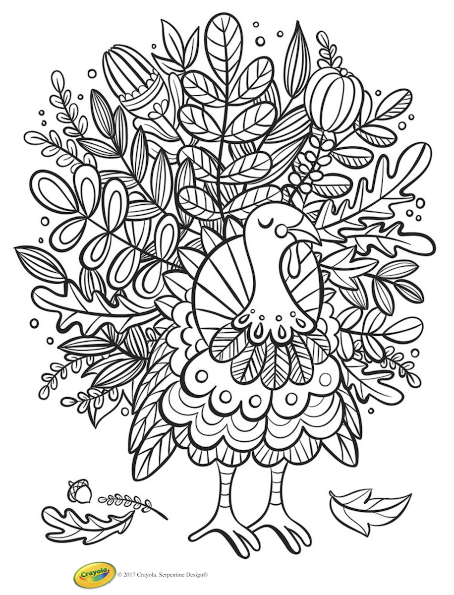 165+ FREE Thanksgiving Coloring Pages and printable