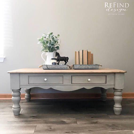 soldfarmhouse living room set solid wood coffee table