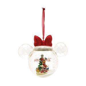 Disney Minnie Maus - Weihnachtsbaumkugel mit Ohren