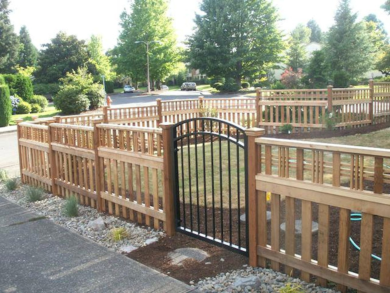 55 Best Front Yard Fence Design Ideas For The Home
