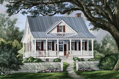 Planned House Plan Front Elevation William Poole Raspberry Cottage Farmhouse Style House Plans Country Style House Plans Farmhouse Style House