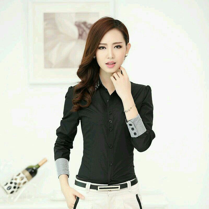 gran selección de venta minorista último diseño Blusa negra | ropa | Camisa negra mujer, Blusas y Camisas negras