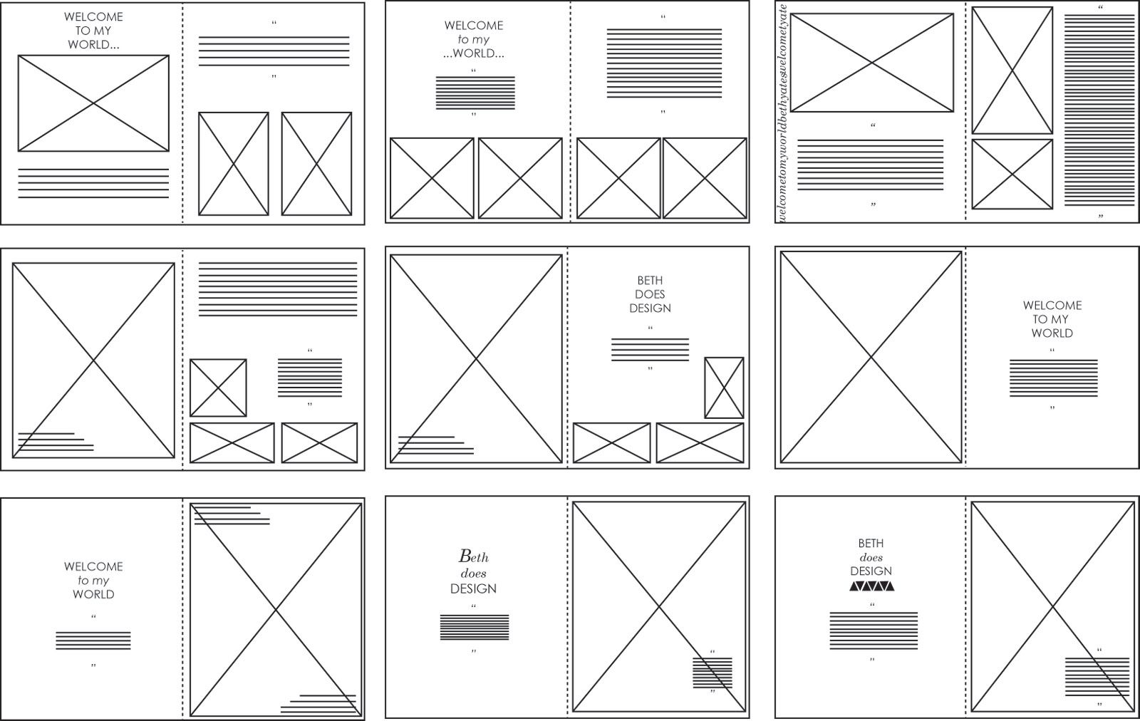yearbook templates indesign google search classroom items pinterest yearbook template. Black Bedroom Furniture Sets. Home Design Ideas