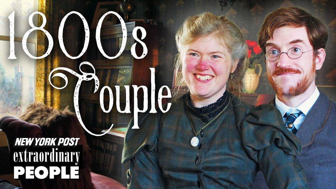 Victorian Era Couple Live Like It's The 19th Century