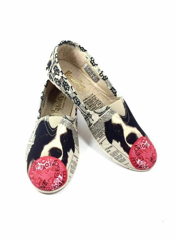 Border Collie Shoes Women Shoes Dog Breeds Dog Lovers Border Collie Collie Dog Breeds