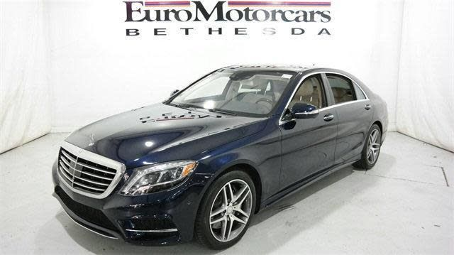 2014 Mercedes Benz S 550 4MATIC For Sale In Bethesda | Cars.com