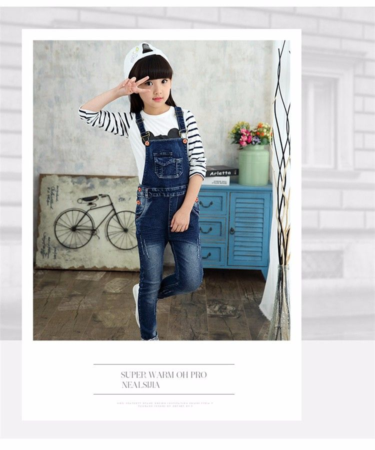 0c8cfcd8c46 F16333 latest Design Girls Top Spring Autumn Soft Jumpsuit Denim Shorts  Pocket Desigh China Wholesale - Buy 2017 Fashion Lastest Spring Autumn Soft  Jumpsuit ...