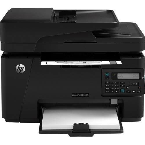 Best Buy Hp Laserjet Pro Mfp M127fn Black And White All In One Laser Printer Black Cz181a Bgj Multifunction Printer Laser Printer Hp Printer