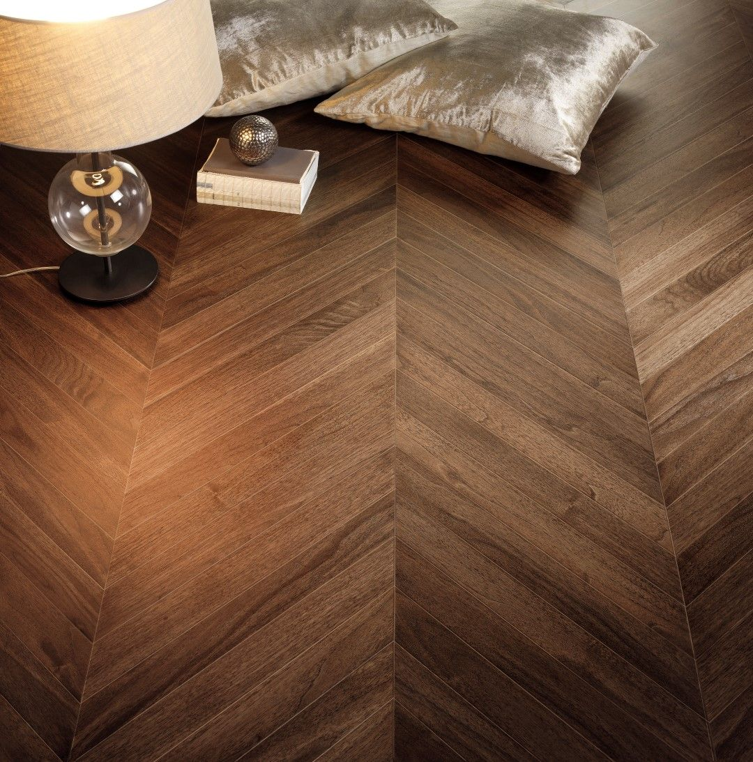 Trio Parquet Stp Palace Chevron Walnut American 16x580x205 Made In Spain Stp Wood Flooring