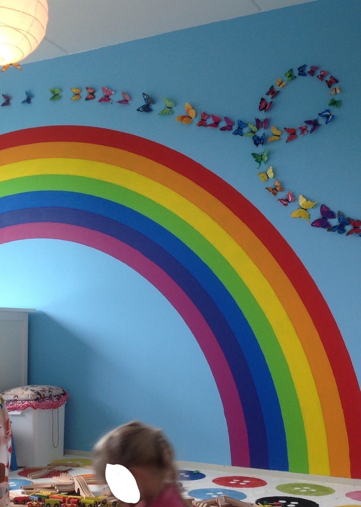 Rainbow And Butterfly Bedroom Rainbow Room Kids Rainbow For Rainbow Room Decor Rainbow Room Kids Rainbow Room Girls Rainbow Bedroom
