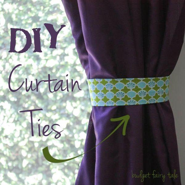 Curtain Ties, Curtain Tie Backs