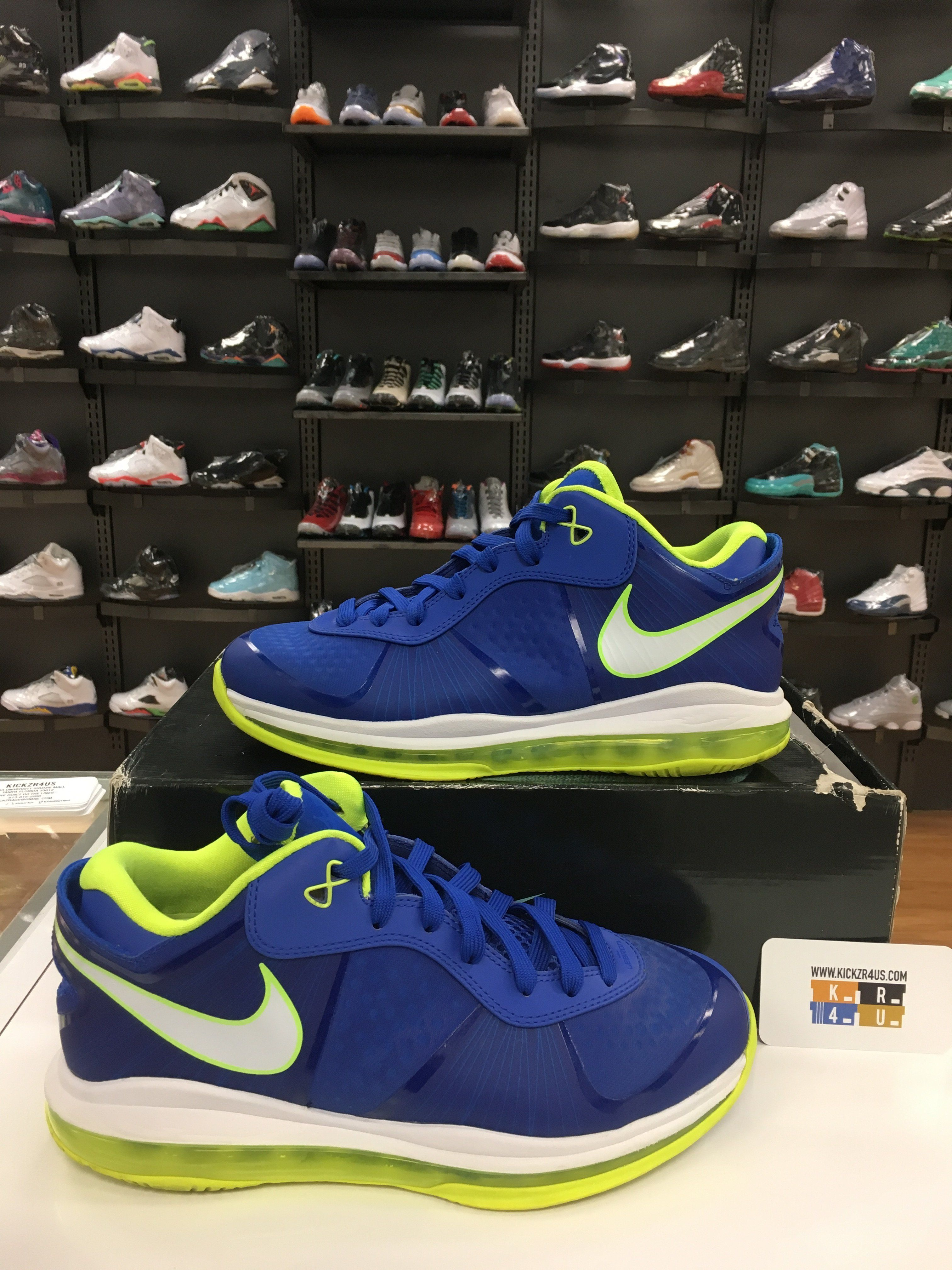 f75a45f55bb4 VNDS Nike LeBron 8 Low V 2 Sprite