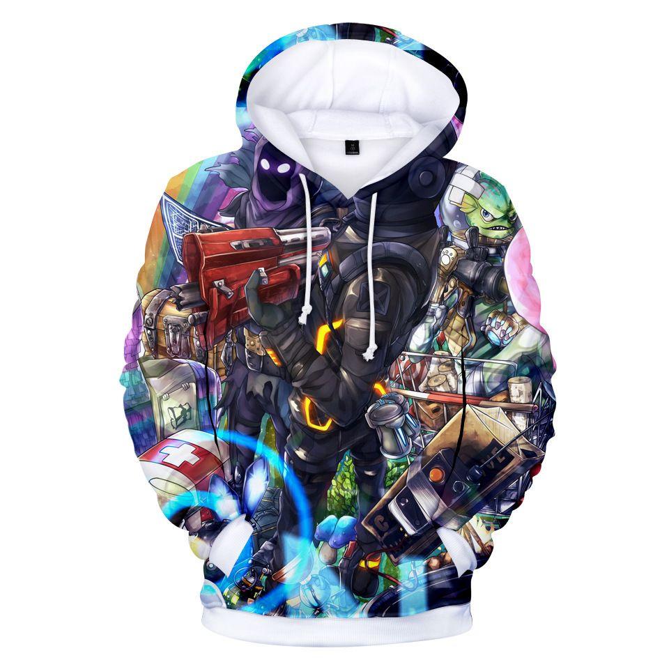 Kids Boys 3D Print Avengers Hoodies Sweatshirt Pullover Jumper Coats Hooded Warm