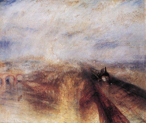J. Turner szybkość, para, maszyna 1844