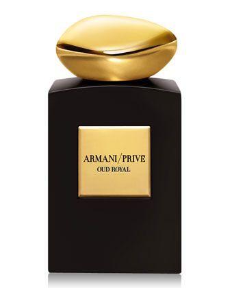 Prive Oud Royal Intense Fragrance By Giorgio Armani Black Dark