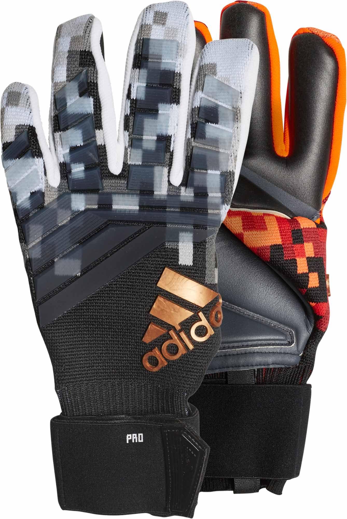 Adidas Predator World Cup Goalkeeper Gloves Red Black Soccerpro Goalie Gloves Goalkeeper Gloves Goalkeeper