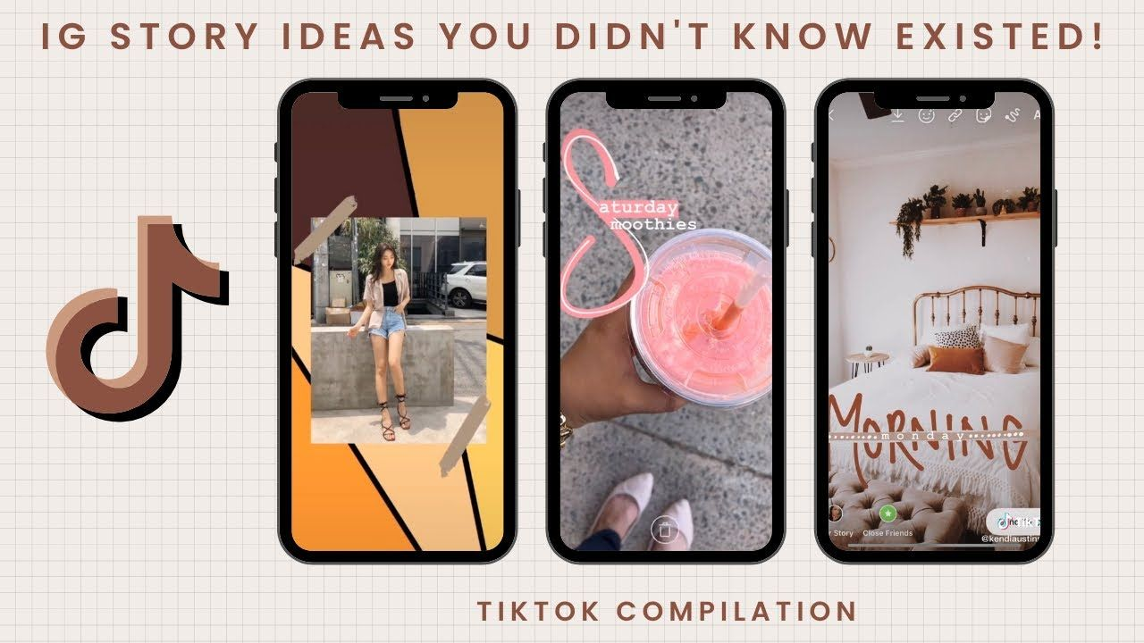 Ig Story Ideas You Didn T Know Existed Tiktok Compilation Best Instagram Stories Instagram Editing Ig Story