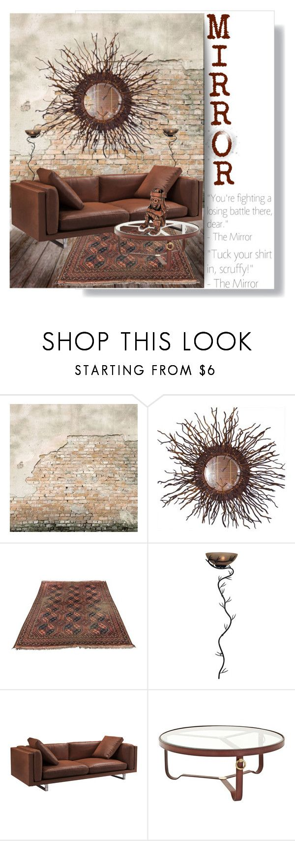 """""""Mirror, Mirror"""" by jesking ❤ liked on Polyvore featuring interior, interiors, interior design, home, home decor, interior decorating, WALL, Kenroy Home, Modloft and NOVICA"""