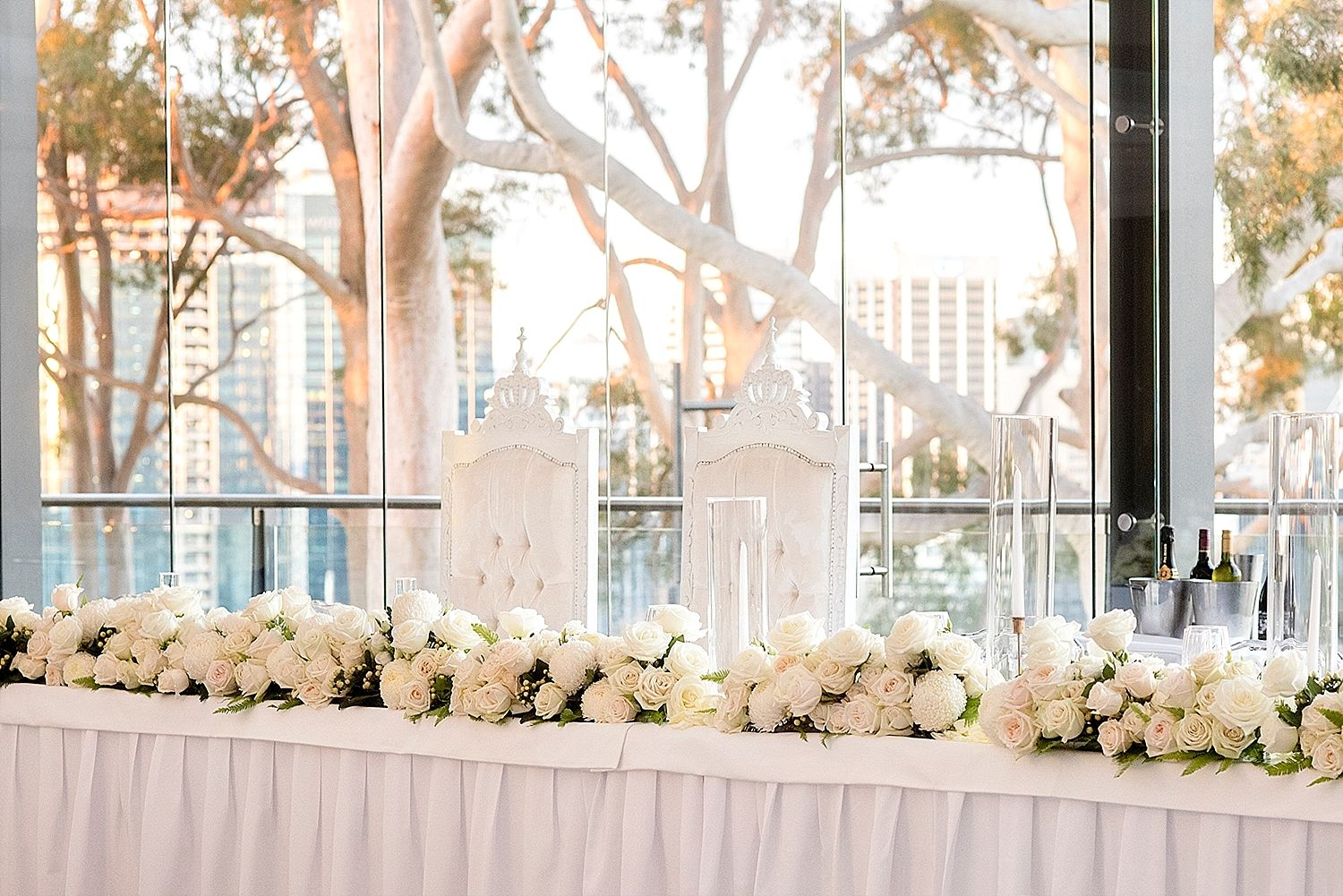 Lia And Josias Perth Reception And Florals