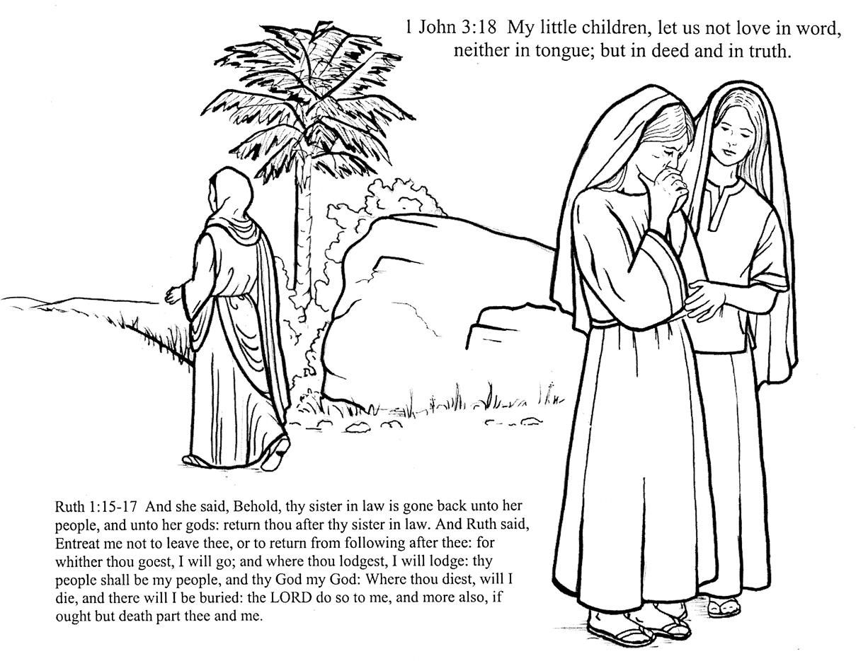 Image Result For Descendants Of Ruth Activity Pages Bible