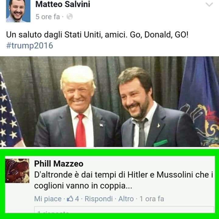 Coppie di fatto  #trump #salvini