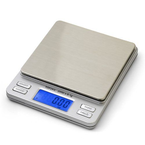 Smart Weigh Digital Pro Pocket Scale with Back-lit LCD Display, Hold Feature and 2000 x 0.1g Capacity - http://www.rekomande.com/smart-weigh-digital-pro-pocket-scale-with-back-lit-lcd-display-hold-feature-and-2000-x-0-1g-capacity/